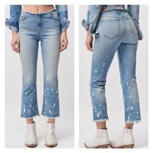 🆕Free People Raw Hem Crop Jeans